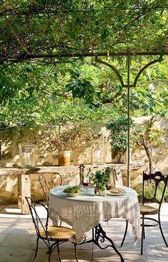 Pergola For Car Parking Refferal: 8854023924 Outdoor Rooms, Outdoor Dining, Outdoor Decor, Style Français, Dubai Miracle Garden, Terrace Decor, Magic Garden, Diy Pergola, Pergola Kits