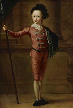 Hayman, Francis (attributed) - PORTRAIT OF A YOUNG BOY IN FANCY DRESS