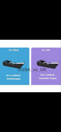 🇺🇸vs🇬🇧 Scotch Tape, British, Usa, U.s. States