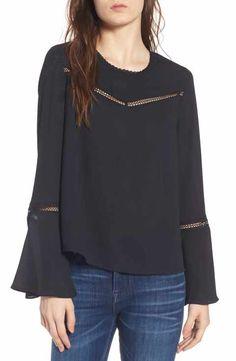 Rebecca Minkoff Chava Bell Sleeve Top