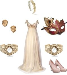 """Garnet masquerade outfit 2.2"" by andipouf on Polyvore"
