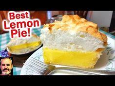If you love fresh-baked homemade pie, try Mama Redbuck's best lemon meringue pie recipe. The meringue recipe for this lemon pie is truly impressive; the meri. Lemon Pie Recipe, Lemon Recipes, Pie Recipes, Dessert Recipes, Best Lemon Meringue Pie, Baked Meringue, Empanadas, Pie Crust From Scratch, Best Pie