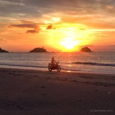 Nacban Beach in El Nido-Palawan-Philippines... Nacban beach...sunset and motorbike riding...paradise!