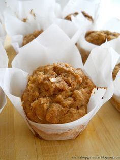 Spiced Carrot Muffins. I'm making these for breakfast.