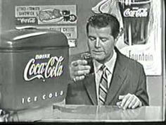 Coca Cola Coke Commercial from We have hundreds of vintage tv commercials from the and These old classic commercials are f. Coca Cola Commercial, Coca Cola Ad, Old Advertisements, Retro Advertising, 1950s Ads, Old Commercials, Vintage Tv, Old Tv, Classic Tv