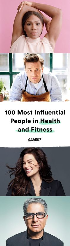 This year's list makes one thing clear: Body positivity is finally mainstream. #health #fitness #people #experts http://greatist.com/health/most-influential-health-fitness-people
