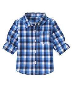 Plaid Shirt at Crazy 8 (Crazy 8 6m-5y)