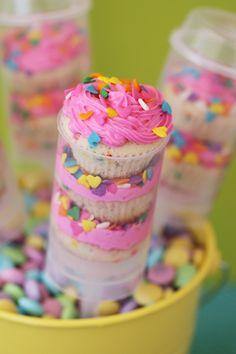 Pink Push Pop Cupcakes