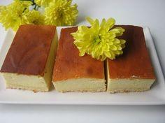 Sernik tylko troszkę opadnie po upieczeniu. Przepis na dużą blaszkę 40 cm x 25 cm Kruchy spód; 2 szklanki mąki 100 g masła o temp. pokojowej 0,5 szklanki cukru pudru 1 jajko 1 płaska łyżeczk… Polish Recipes, How Sweet Eats, Cheesecakes, Vanilla Cake, Cooking Recipes, Sweets, Vegan, Baking, Ethnic Recipes
