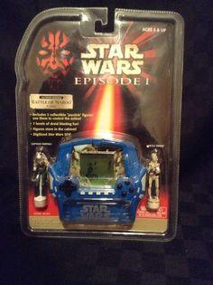 NIP Star Wars Episode 1 Battle Of The Naboo Tiger Electronics Handheld Game #TigerElectronics