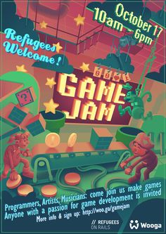 Podobny obraz Game Programmer, Photoshop Me, Invitations, Games, Artist, Movie Posters, Play, Google, Film Poster