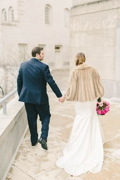 Kara & Curt's Bethesda, Maryland Wedding// ft. #DonnaMorgan bridesmaid dresses in Berry Bouquet-- now on FINAL SALE// Elizabeth Fogarty Photography #bridalstyle