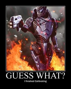 I'm Garrus Vakarian and this is my favorite spot on the Citadel!!