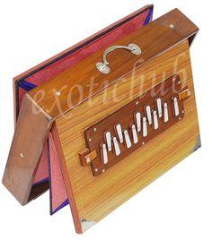 SHRUTI BOX-BIG SIZE~TEAK WOOD Indian Musical Instruments, Teak Wood, Toy Chest, Storage, Size 16, Stuff To Buy, Big, Home Decor, Collection