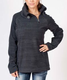 Look at this Avalanche Black Kamnik Pullover on #zulily today!
