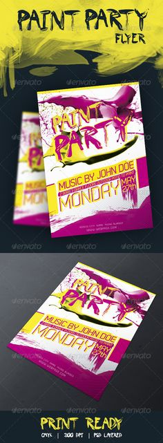 Free Adobe Illustrator promotional flyer template - green Free - free templates flyer