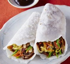 Gluten-Free Moo Shu Vegetables with Sesame Pancakes