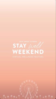 Virtual Wellness weekend featuring amazing workouts, recipe demos, dance parties, and panels! Donations are optional and all money will go towards Feed America's relief toward Killer Workouts, Body Workouts, At Home Workouts, Dorm Room Workout, Clean Drink, Love Sweat Fitness, Healthy Tips, Healthy Recipes, Weekend Packing