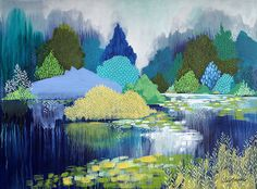 Lake in Hyde Park (SOLD)