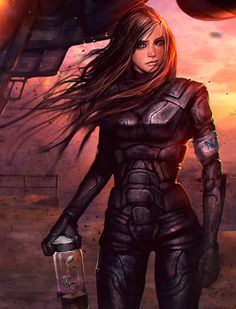 Scientist collecting biological samples on a faraway world, space opera / sci-fi inspiration Dark Fantasy Art, Fantasy Girl, Sci Fi Fantasy, Final Fantasy, Female Character Design, Character Art, Science Fiction Kunst, Space Opera, Pose