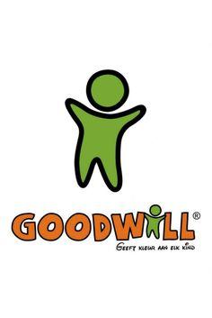 Herken je ons logo al? Wij zijn Goodwill® en wij geven samen kleur aan kinderen die verblijven in een Medisch Kinderdagverblijf (MKD).