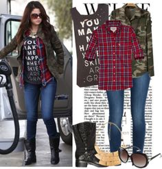 """Get the look: Selena Gomez"" by jullianaisabel on Polyvore"