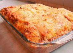 Τα λιλά της Λίλας: Σουφλέ με τυριά,αλλαντικά και ψωμί του τόστ Cookbook Recipes, Cooking Recipes, Greek Recipes, Allrecipes, Lasagna, Recipies, Food And Drink, Meals, Baking