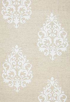 Linen fabric by F Schumacher