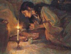 Washing the feet of Jesus
