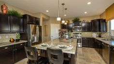 Family events and parties will become more spacious in this thrilling kitchen!