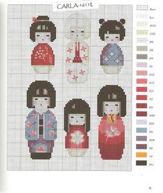 Gallery.ru / Фото #34 - Japon au point de croix - patrizia61