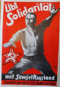 Show Solidarity with Soviet Russia!  available at artofrevolution.co.uk