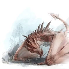The Elder Scrolls,фэндомы,TES art,Skyrim,odahviing,Одавинг,TES Персонажи