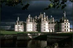Chambord, France - The sky in the background is amazing.