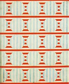 """""""Optical"""". Design for fabric, 1924. Varvara Stepanova"""