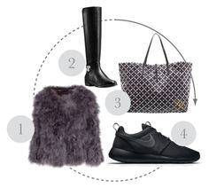 """favs"" by cornelia-smrecki on Polyvore featuring Michael Kors, By Malene Birger and NIKE"