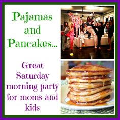 GREAT idea for a Thirty-One morning party for mom and kids!  everyone who brings a snack gets entered into a drawing for a FREE gift from me!   31 bag, 31 bags, direct sales party themes    #thirtyone #inspiredbypurses #pancakes