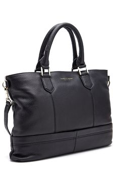 TIGER OF SWEDEN Florina Leather Bag 050 black - Bubbleroom