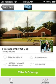 First Assembly of God in Grand Bay, AL #GivelifyChurches