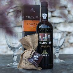 Geschenkset für Firmenkunden und Geschäftspartner mit Portwein