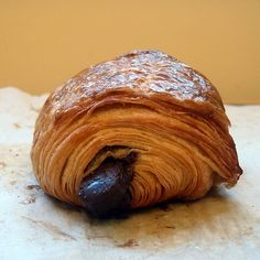 DIY Recipe | EASY Chocolate-Filled Croissants ~ This straightforward recipe incorporates delicious sweet chocolate tucked inside an authentic flaky croissant. You can purchase pre-made croissant dough, or you can prepare it ahead from scratch. The rest is simple...