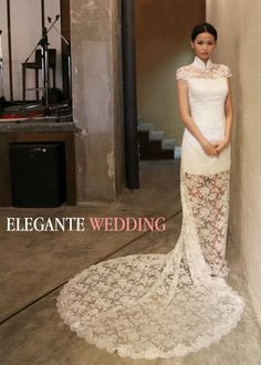 Cheongsam style [Shortened Bridesmaid Dress] (with red wedding dress)