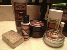 My friend Beth's favorite Products her Oatmeal Milk and Honey