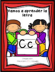 Spanish La Letra c from ESL Village on TeachersNotebook.com -  (22 pages)  - Learning the alphabet is fundamental for learning to read and letter recognition is also one of the most essential predictors of reading ability and the main foundation of a written language.