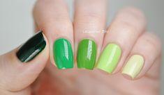 St. Patrick�s Day � Green Nail Polish Comparisons