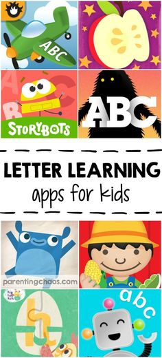 TEACH YOUR CHILD TO READ - Letter Learning Apps for Kids: 10 Apps that teach letter knowledge and print awareness through interactive play Super Effective Program Teaches Children Of All Ages To Read. Letter Learning Games, Kids Learning Apps, Educational Apps For Kids, Teaching Letters, Learning Websites, Alphabet Activities, Teaching Kids, Listening Activities, Teaching Spanish