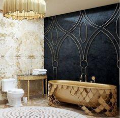 MAISON VALENTINA'S BATHTUBS DESIGN #luxuriousbathroom #trenddesign…