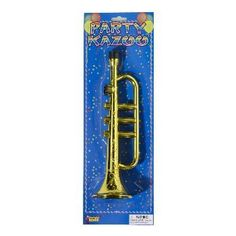 Black Friday Forum Novelties Gold Trumpet Party Kazoo Play Musical Instrument from Forum Novelties Cyber Monday Plastic Trumpet, Toy Trumpet, Trumpet Accessories, Morris Costumes, Jazz Club, Louis Armstrong, Music Party, 60th Birthday, Costume Accessories
