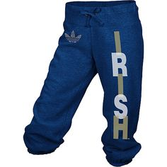 adidas Notre Dame Fighting Irish Women's Broken Word Cropped Capri Pant #11360993  Our Price: $28.00