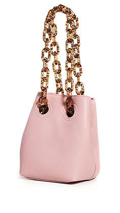 Woke Newbie Bucket Bag | #BucketBag | #Bags | Heel Stretch, China Fashion, Tortoise Shell, Luxury Branding, Bucket Bag, Autumn Fashion, Shoulder Bag, Chain, Leather